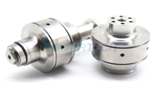 WT008411-1 Check Valve Body on Water Jet Cleaning Machine Pump