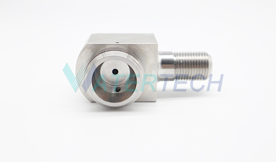 WT044866-1 On/Off Valve Cutting Head Adapter 90 degree