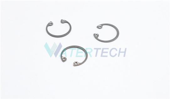 Waterjet direct drive internal retaining ring