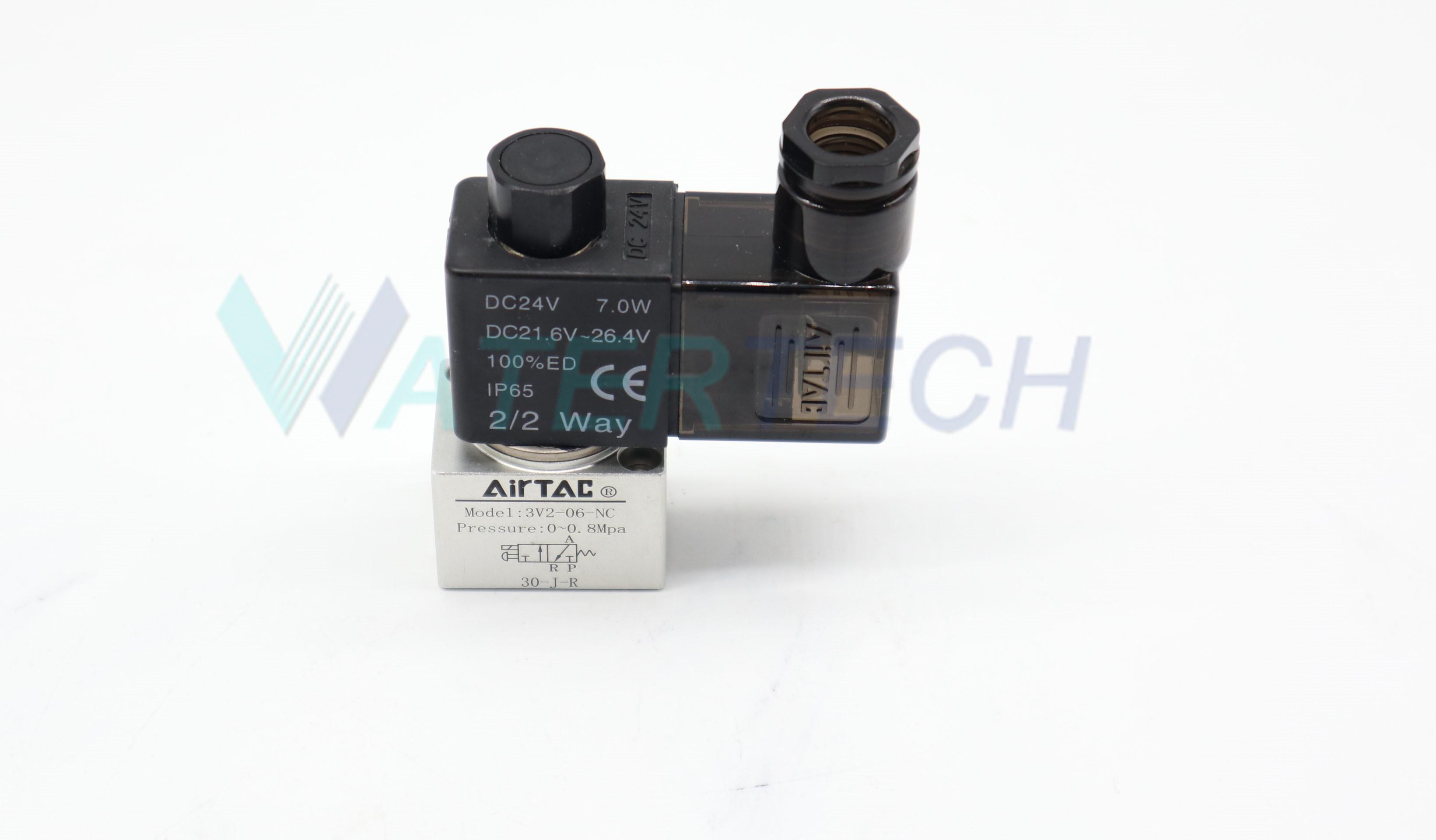 WT 49888035  24 VDC 2-3 Way Air Solenoid Valve