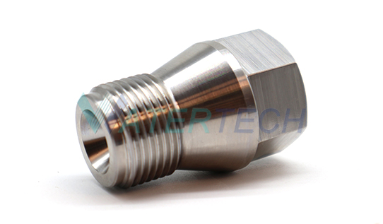 WT 042101-1 High pressure pump turbocharger parts outlet body