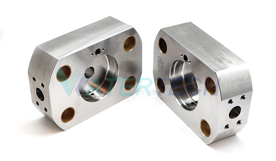 WT 020072-1 87K Intensifier End Bell Assembly Left Hand