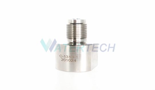 WT C-1313-1 Wate Jet 60k Intensifier parts Outlet Valve Body