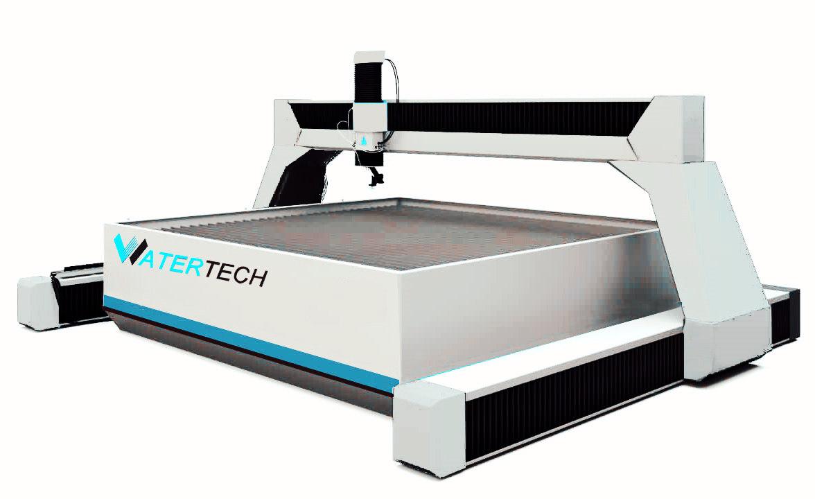 Waterjet Cutting Machine for Heavy Steel Cutting